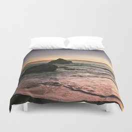 Brookings Oregon Sunset Duvet Cover