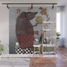 It's a Hedgehog! Wall Mural