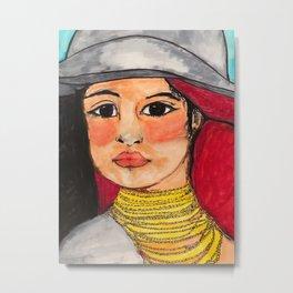 Quichua Metal Print