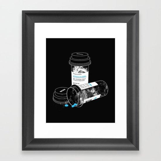 Space RX Framed Art Print