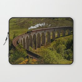 Heading To School Of Wizardy And Magic Laptop Sleeve