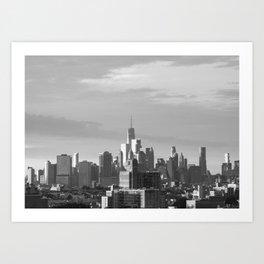 New York Horizon Art Print