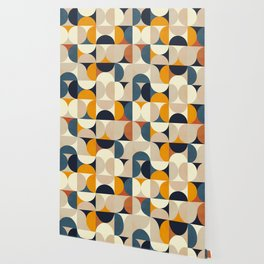 mid century abstract shapes fall winter 1 Wallpaper