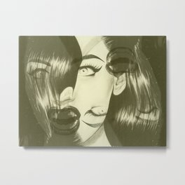 Sasha Pivovarova ALT Metal Print