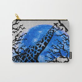 GIRAFFE IN A THICKET Carry-All Pouch