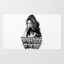Winehouse of the dead Rug