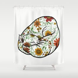 Pretty Kitty - no background Shower Curtain