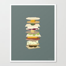 Cheese Stack Canvas Print