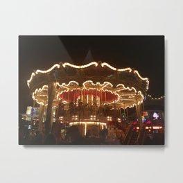Carousel at Pier 39 - City of San Francisco Metal Print