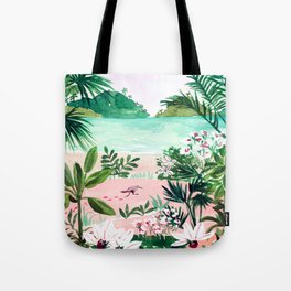 Seaside Meadow Tote Bag