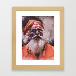 Swami, Spirit Master Framed Art Print