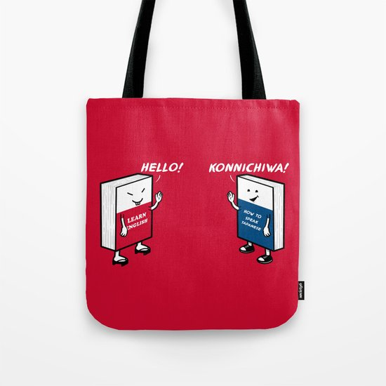 Say Hello Tote Bag
