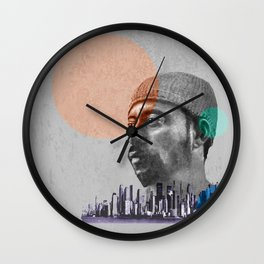 MADLIB - urban Wall Clock