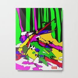 Twig Fang Metal Print