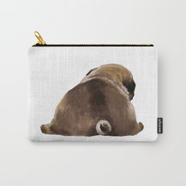 Pug Butt Carry-All Pouch