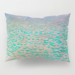 Klimt - Lake Attersea (new editing) Pillow Sham