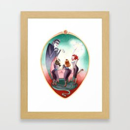 Sleeping Beauty, Mirror Framed Art Print