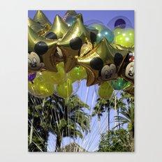 Disney Balloons Canvas Print