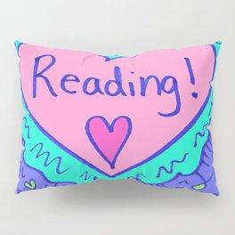 Reading! Pillow Sham