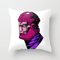 xmen Throw Pillows featuring x8 by jason st paul