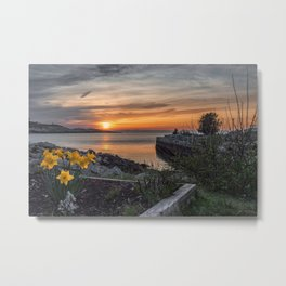 Sunset in Folly Cove 5-5-18 Metal Print