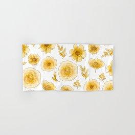 Yellow roses Hand & Bath Towel