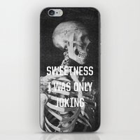the smiths iPhone & iPod Skins featuring Sweetness by Anna Dorfman