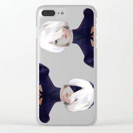 YoRHa 2B Clear iPhone Case