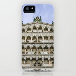 San Michelle Cathedral, Lucca, Italy iPhone Case