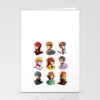 iwatobi Stationery Cards featuring Free! by AndytheLemon