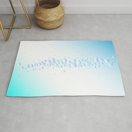 Air Bubbles On Water Rug