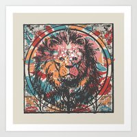 leo Art Prints featuring Leo by Heinz Aimer