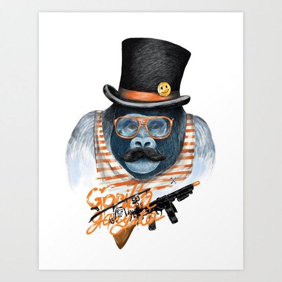 Gangster Art Print