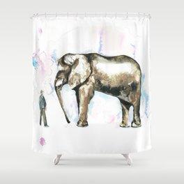Jumbo elephant Shower Curtain