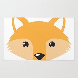 Little foxy face Rug