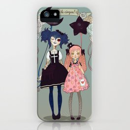 Vive le Cirque! iPhone Case