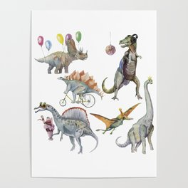 PARTY OF DINOSAURS Poster