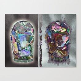 CANDY JARS Canvas Print