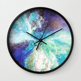 Falling Polish Wall Clock