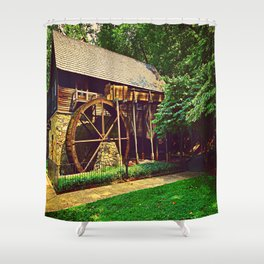 Gristmill - Charlottesville, Virginia Shower Curtain