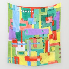 Cocktails in the City Wall Tapestry