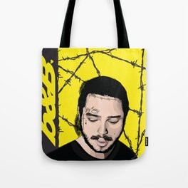 Malone Post Tote Bag