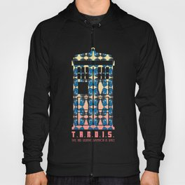 Doctor Who: TARDIS Pattern Hoody
