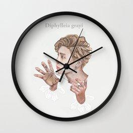 Diphylleia grayi Wall Clock