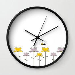 """Let it """"bee"""" Wall Clock"""