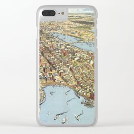 Sydney 1888 Clear iPhone Case