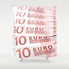 10 Euros Shower Curtain
