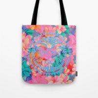 hawaii Tote Bags featuring Hawaii by Marta Olga Klara
