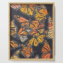 Monarch Print Serving Tray