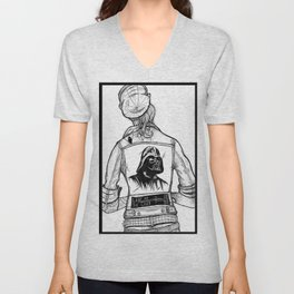 Roth-Vader City Rockers Unisex V-Neck